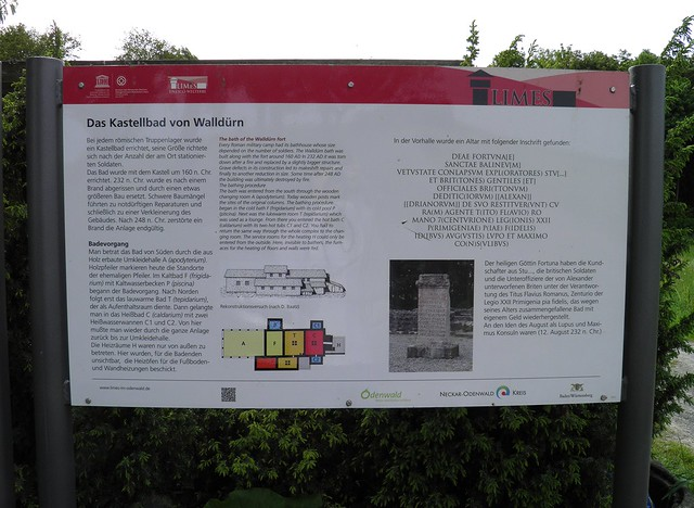 ORL Limes 39 - Kastell Walldürn Walldürn (Trajanic / 159 AD)