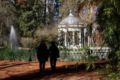 día de san Blasín en los jardines de Aranjuez