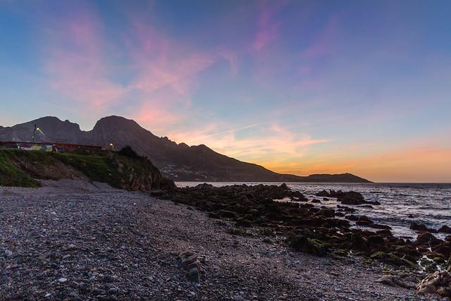 Sunset Ceuta