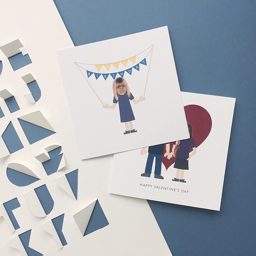 Little Envelope Cards and Cut Paper Letters