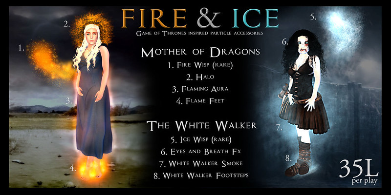 Fire and ice by Colemarie