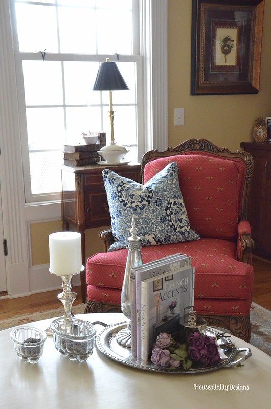 French Country table vignette - Housepitality Designs