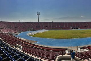Santiago - Estadio Nacional inside