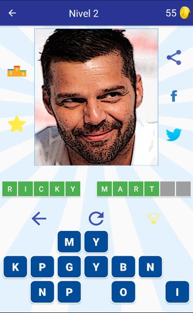 Header of Ricky Martin