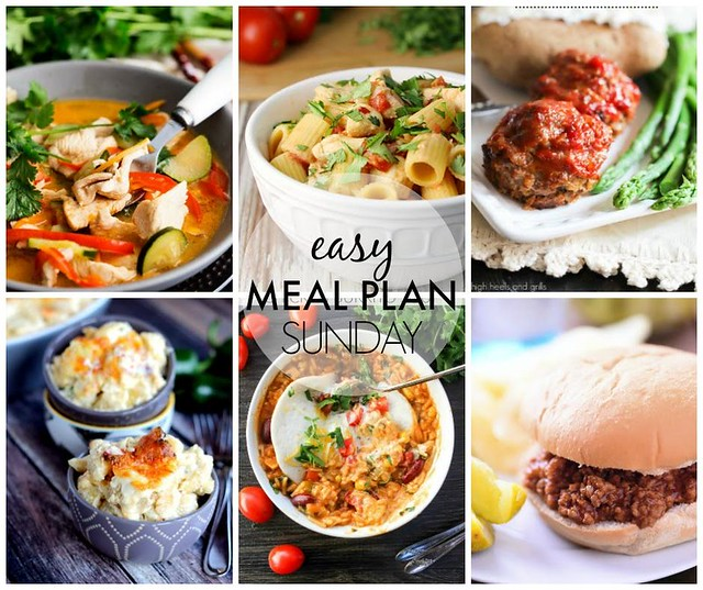 Week 36. Collaborative weekly meal planning. 9 bloggers. 6 dinner ideas, one-weekend breakfast plus 2 desserts every single week equals one heck of a delicious menu!