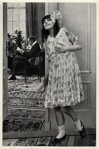 Asta Nielsen in Engelein (1914)