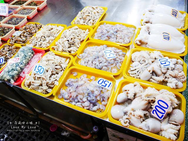 新竹一日遊景點推薦南寮漁港買海鮮 (1)