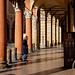 Bologna - Portico di Piazza Santo Stefano by Massimo Battesini