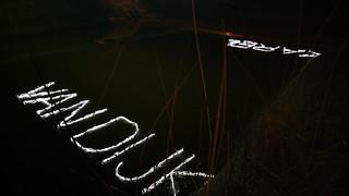 Karel van Dijk bridge light installation