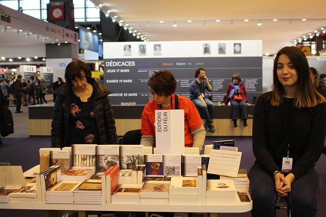 Lauren Sebbag (Les Éditions du Félin) - Livre Paris 2016