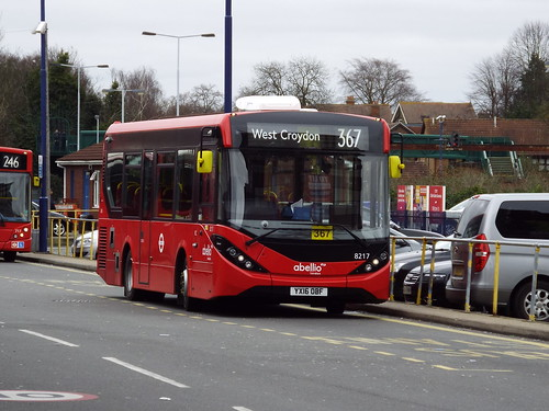 Brand new - Abellio London 8217, YX16OBF at Bromley North on route 367