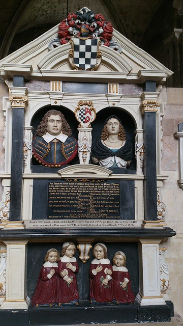 Mausoleum to the St. Barbe Family, Romsey Abbey