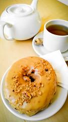 Tea + Doughnut
