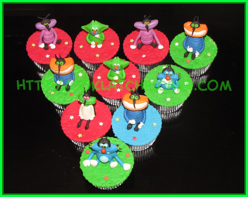 Cupcake Oggy