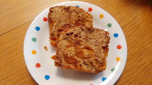 金柑の黒糖パウンドケーキ1