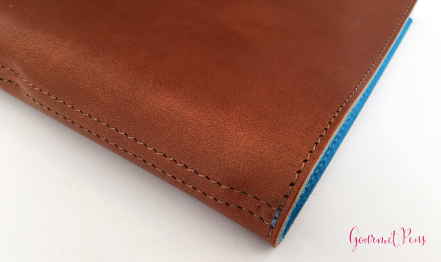 Review @WilliamHannahUK Whiskey & Kingfisher Leather Notebook (28)