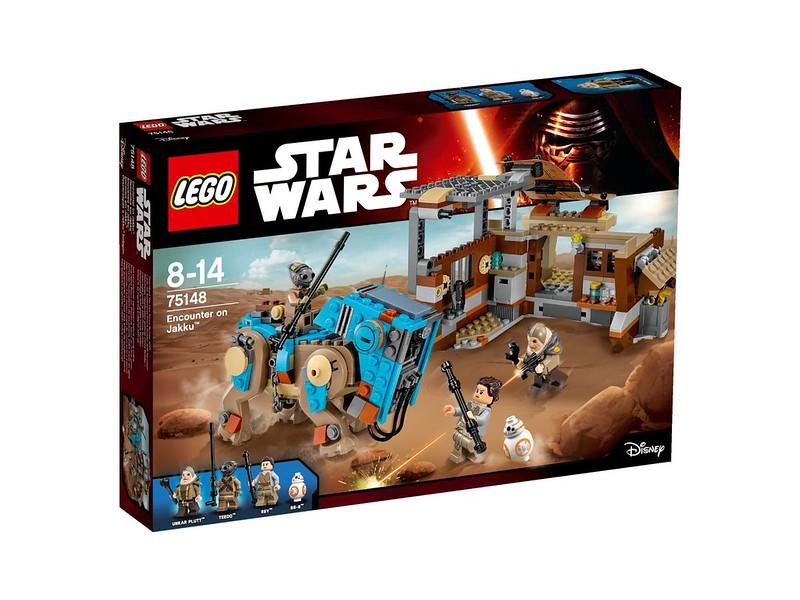 LEGO Star Wars set 2016: 75148 - Encounter on Jakku