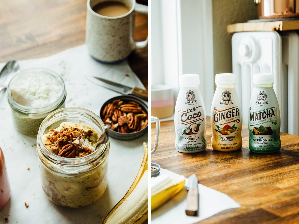 Ginger-turmeric overnight oats
