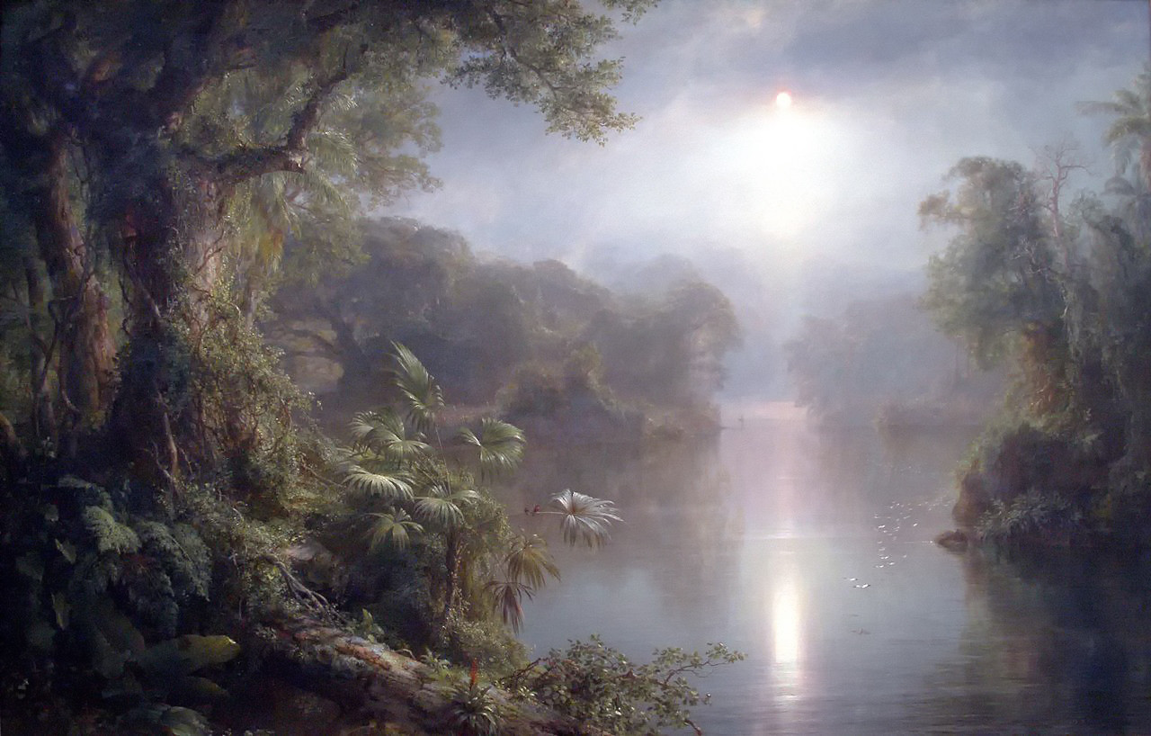 The River of Light by Frederic Edwin Church, 1877