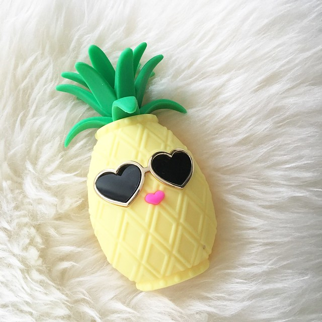 Bath & Body Works Pineapple PocketBac Holder