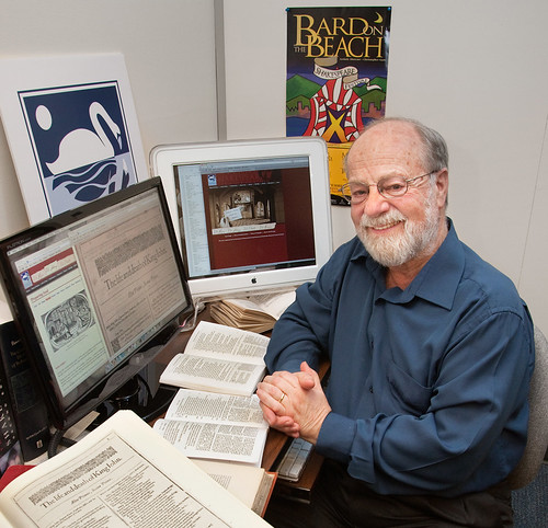 Earlier photo of Michael Best, founder of the ISE. Credit: UVic Photo Services.