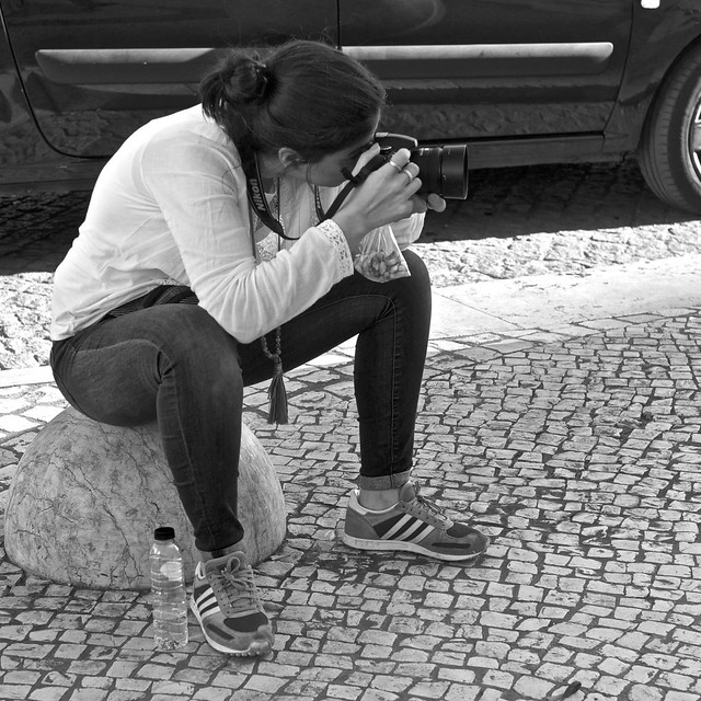 Girl Photographing