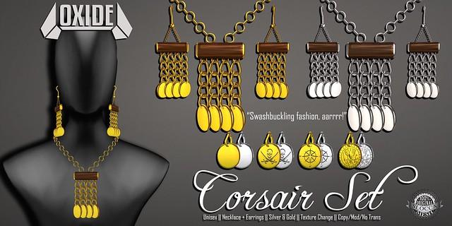 OXIDE Corsair Coins Set - Fantasy Faire 2016