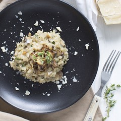 Pilzrisotto #risotto #pilz #mushrooms #reis #rice…