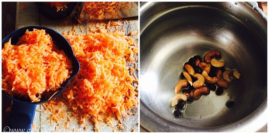Carrot Halwa Recipe for Toddlers and Kids - step 2