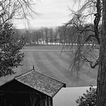 Avenham Park looking towards the River Ribble Preston