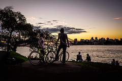 Overlooking Twilight - Mrs Macquarie's Point