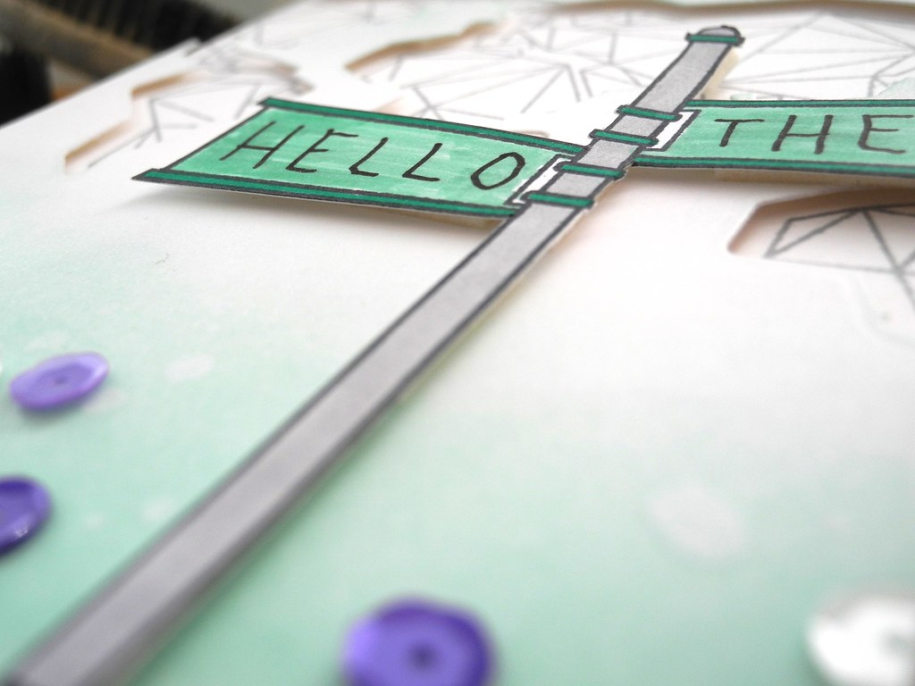 Hello There by Jennifer Ingle #JustJingle #Cards #NeatAndTangled
