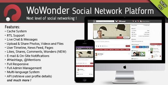 odecanyon WoWonder v1.1 - The Ultimate Social Networking Platform