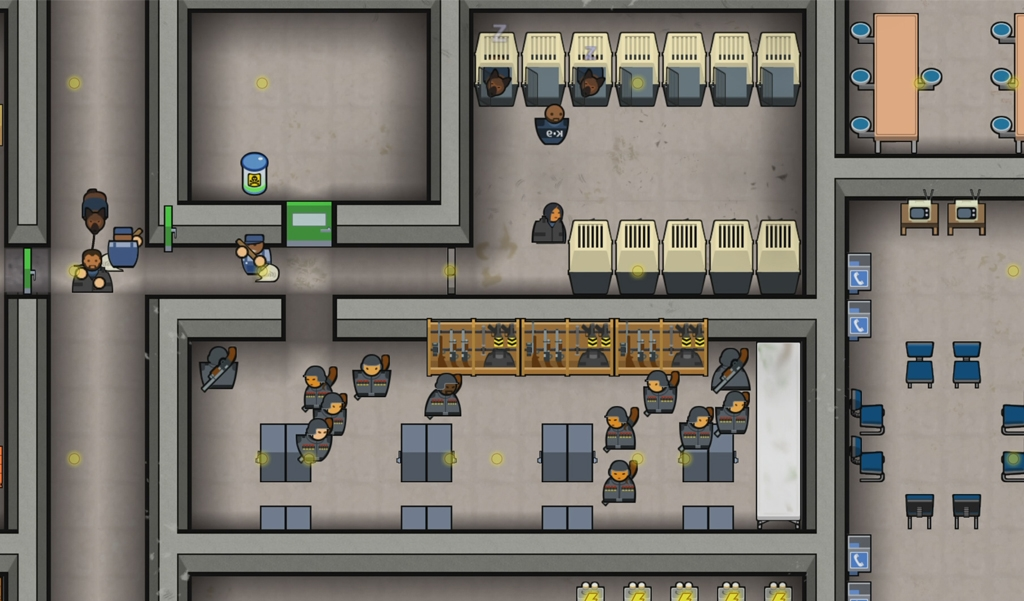Prison Architect on PS4