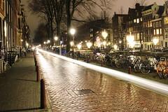 Motorbike Passing at Night