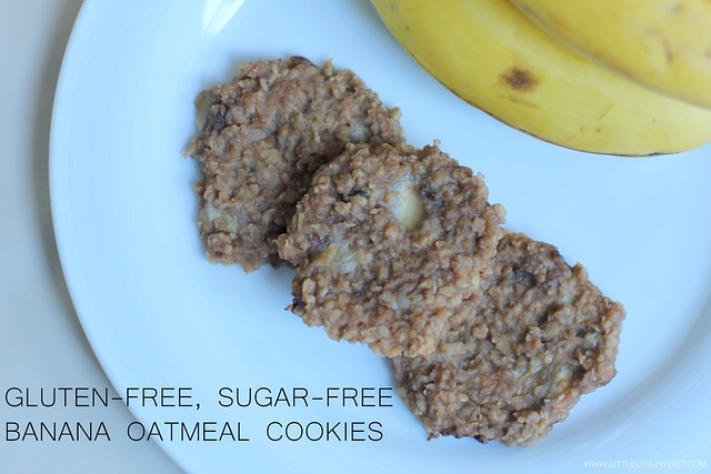 Banana oatmeal cookies top by little luxury list.