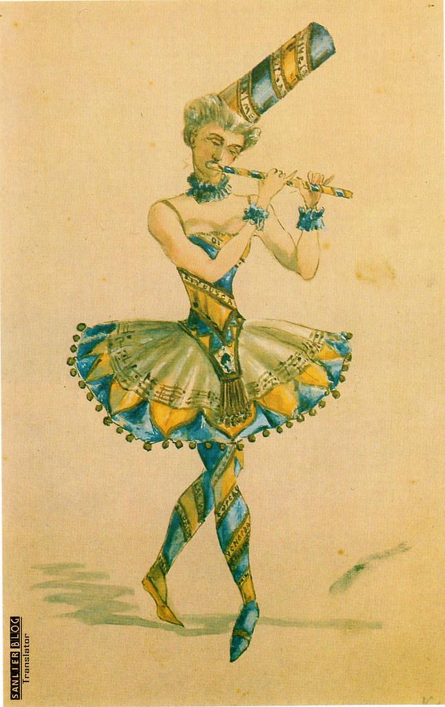 19世纪芭蕾剧舞台设计11