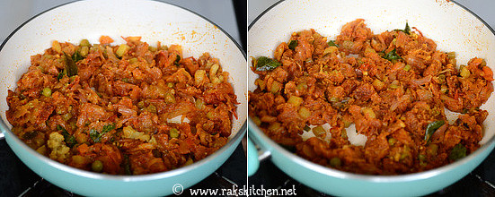 Step 6 kothu parotta recipe