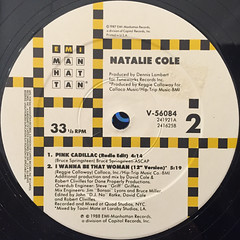 NATALIE COLE:PINK CADILLAC(LABEL SIDE-B)