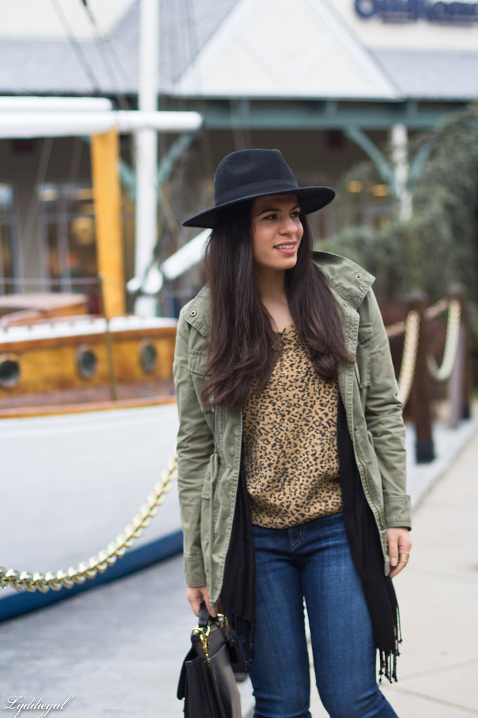 leopard sweater, field jacket, denim, wool fedora-4.jpg