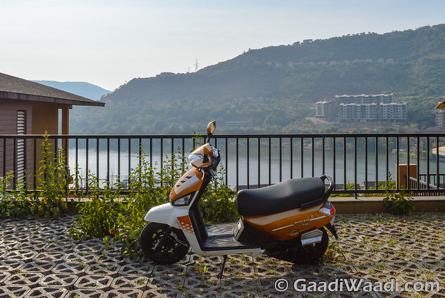 Mahindra Gusto 125 Test Drive review-22