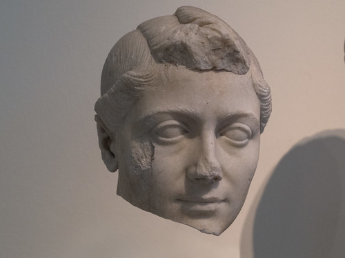 Romans - XXVII:  Female Portrait (Ca. 30 BC)