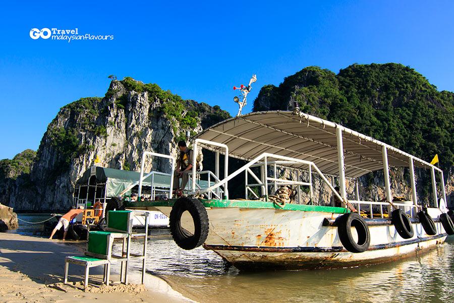 Halong Bay Vietnam 2D1N Trip kayaking