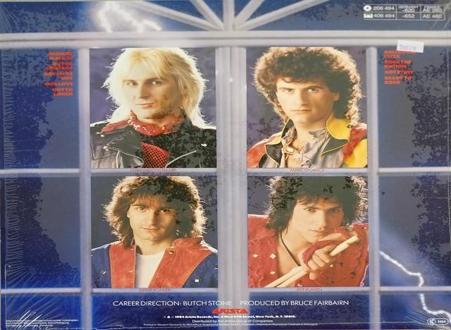 "KROKUS The Blitz OIS 12"" LP ALBUM VINYL"