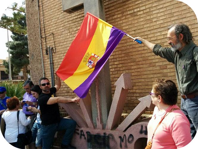 Podemos es contrario a que los vecinos de La Aljorra decidan sobre la retirada de símbolos fascistas