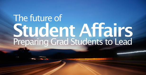 The future of student affairs graduate programs is technology