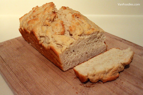 Beer Batter Bread with Wheat Ale