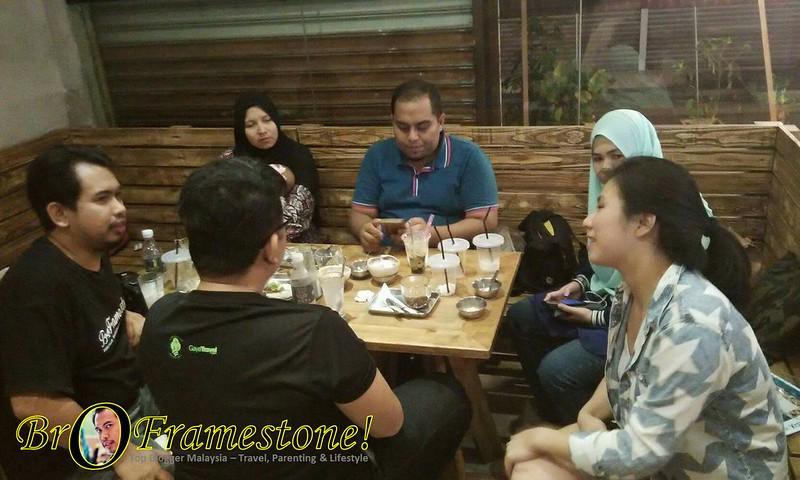 Blogger Lepak di Sangkaya Kota Damansara