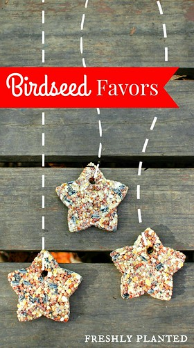 Birdseed Favors | Freshly Planted