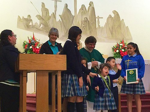 The Nativity School was recently awarded for its inclusivity of children with disabilities